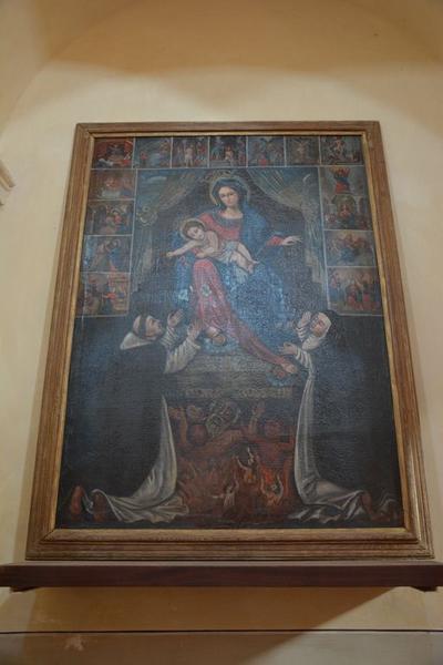 tableau : Donation du Rosaire