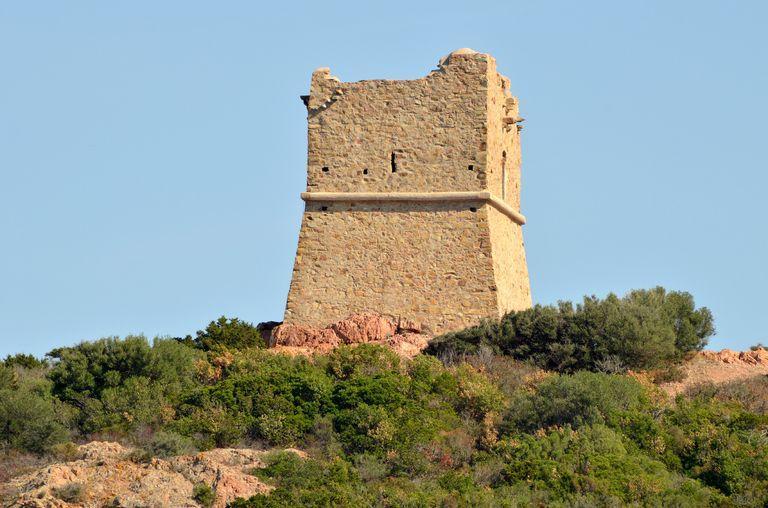 Poste d'observation dite tour génoise de Pinarello