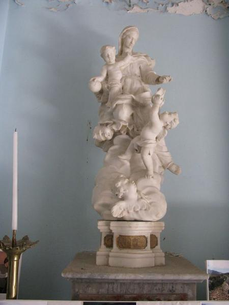 Groupe sculpté : Assomption