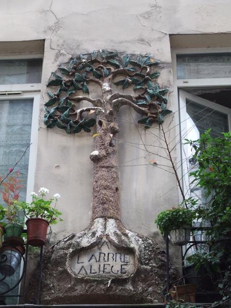 """Enseigne """"A l'arbre à liège"""""""