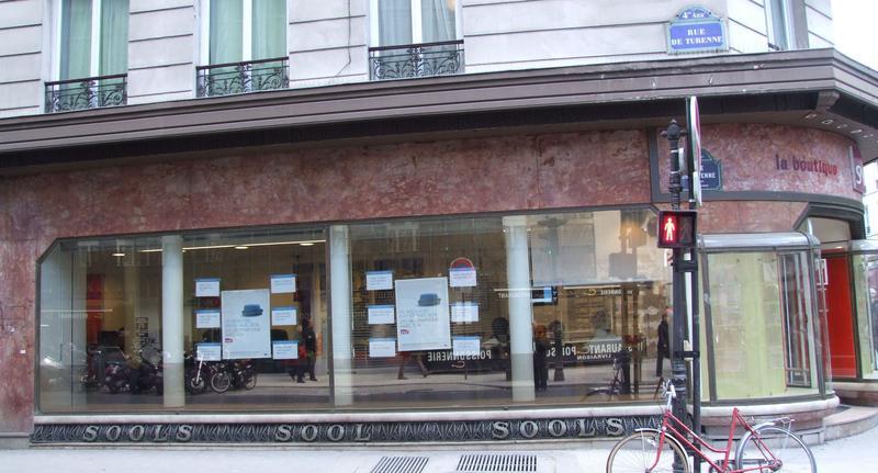 Devanture rue de Turenne