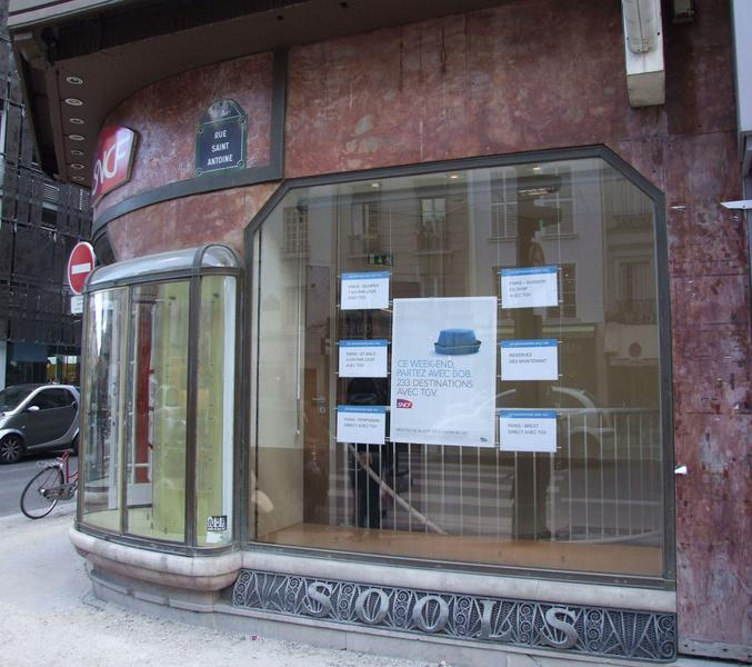 Devanture rue Saint-Antoine