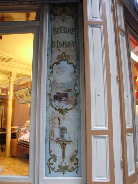 Devanture rue Royer-Collard : détail
