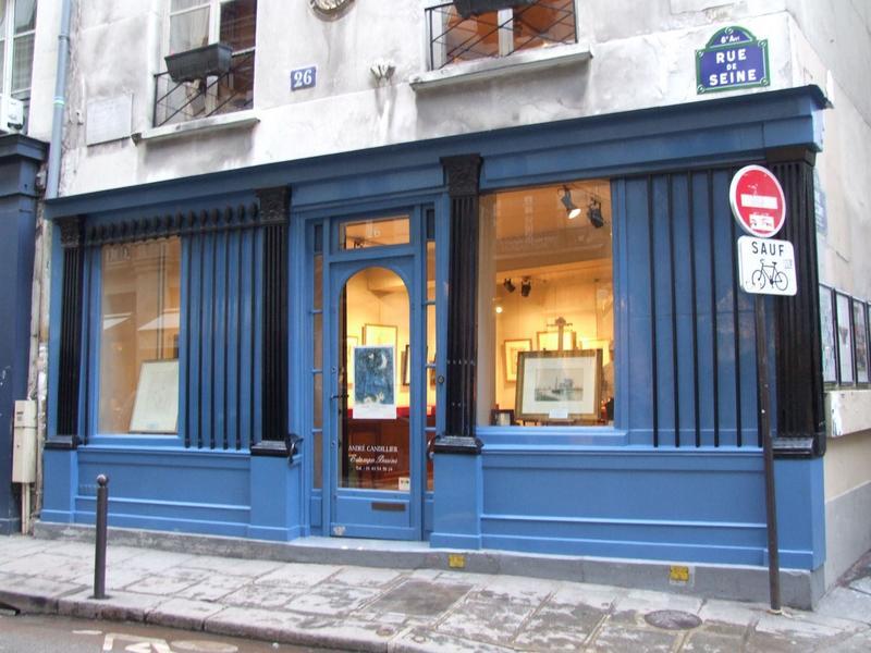 Devanture rue de Seine