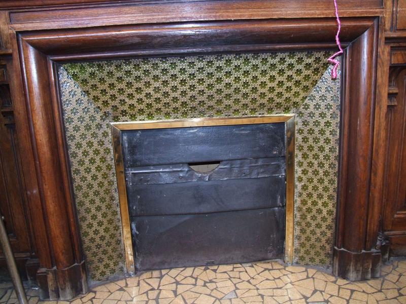 Décor intérieur : cheminée