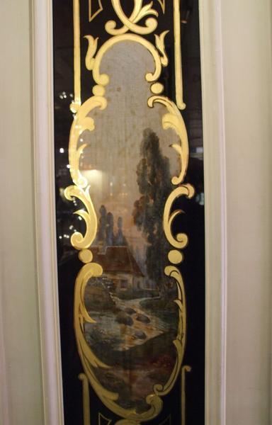 Décor intérieur : fixés sous verre sur mur
