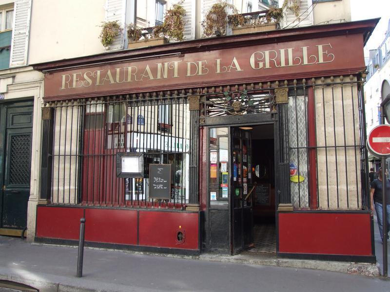 Devanture ; élévation ; grille sur la rue du Faubourg Poissonnière