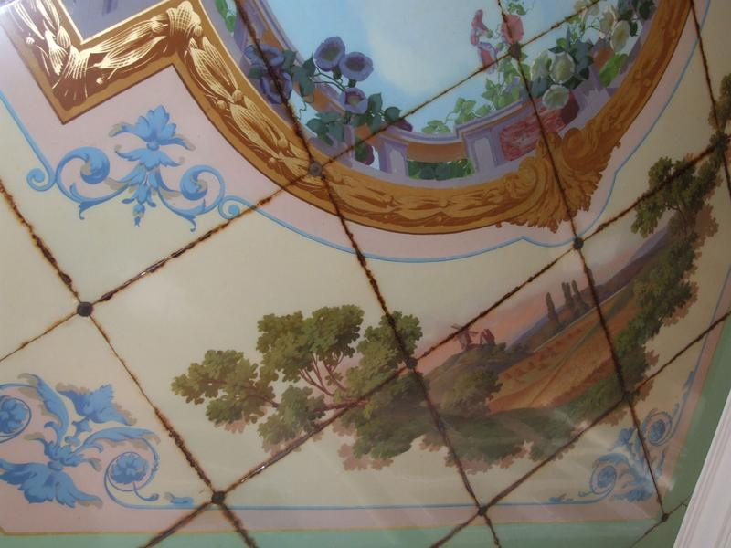 Plafond ;  les quatre saisons ; l'été