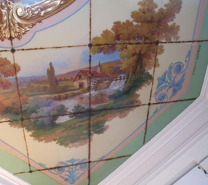 Plafond ;  les quatre saisons ; l'automne