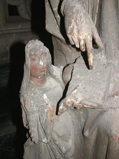 groupe sculpté : Sainte Anne et la Vierge ou L'Education de la Vierge