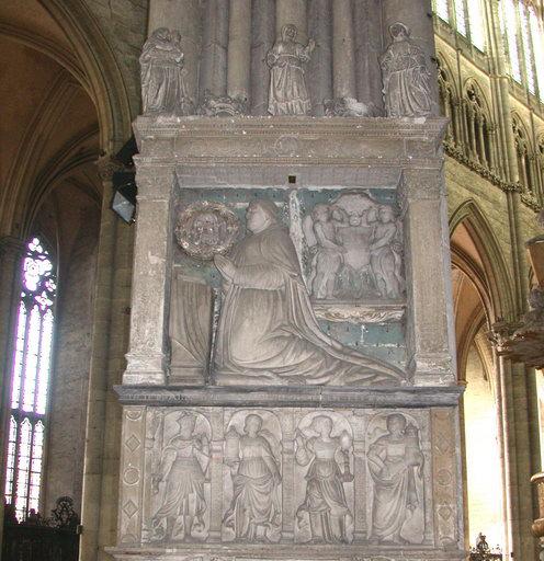 monument funéraire du cardinal Charles Hémard de Denonville, évêque d'Amiens et de Mâcon