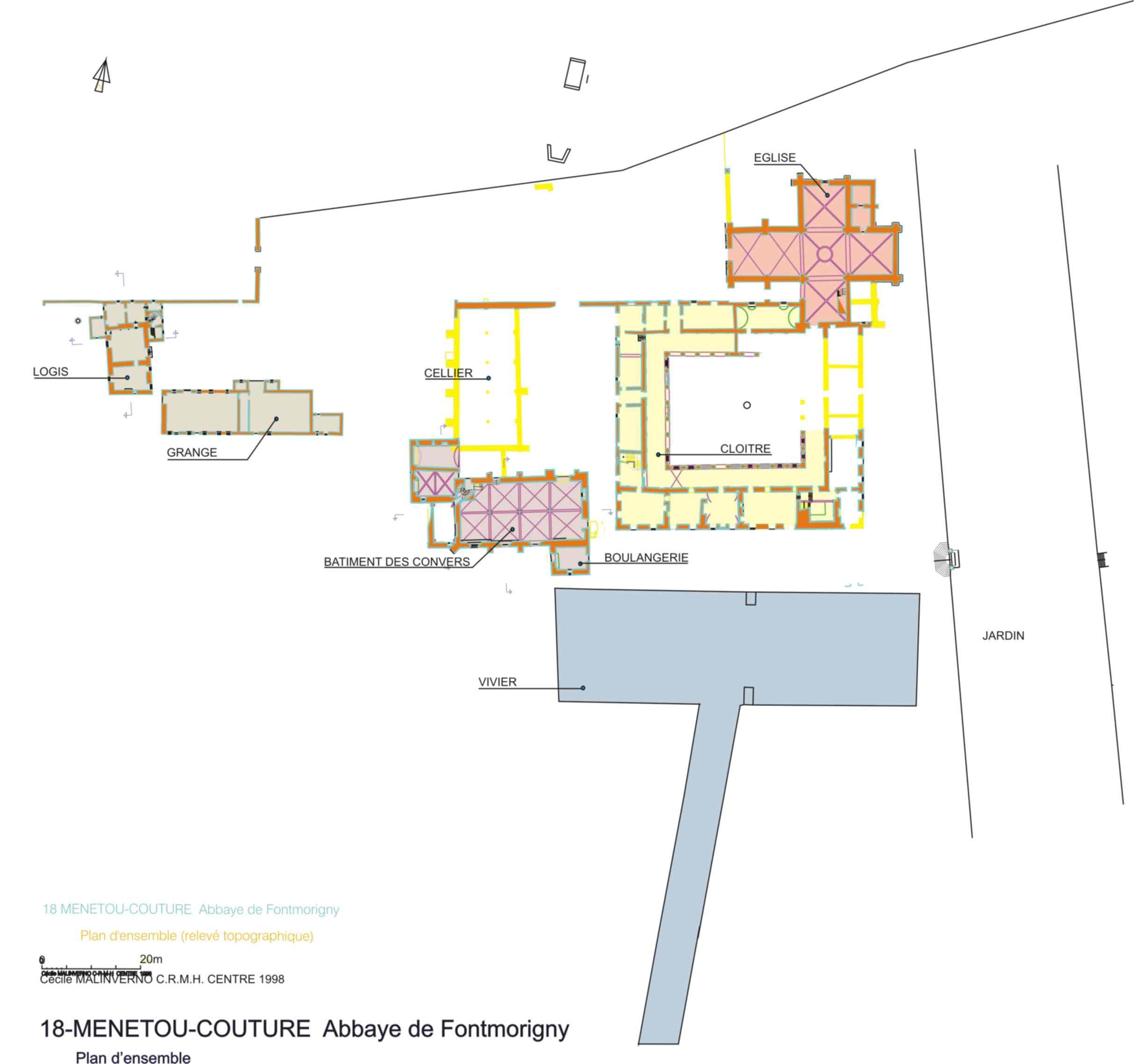 Abbaye cistercienne de Fontmorigny
