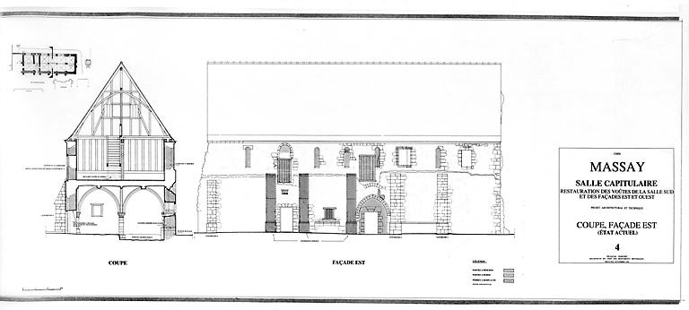 Abbaye Saint-Martin, salle capitulaire