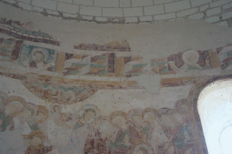 Peintures monumentales : Scènes de la vie de la Vierge