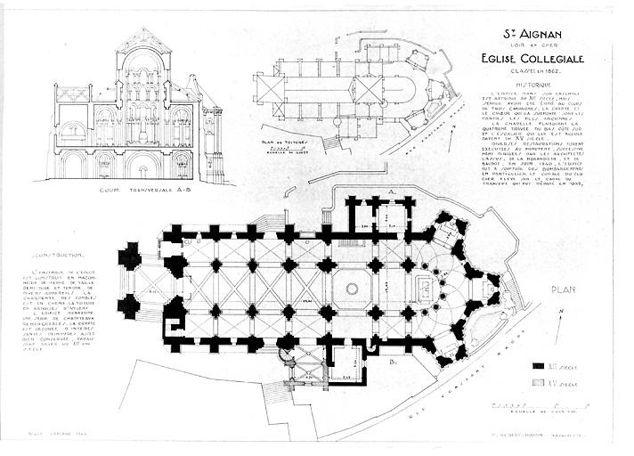 Eglise Saint-Aignan (ancienne collégiale) £