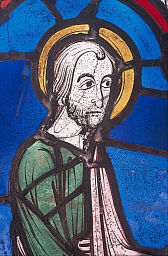 Verrière : Histoire de saint Jacques le majeur (baie 5)