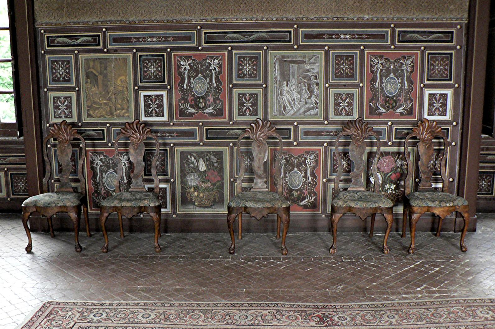 Ensemble de 6 chaises hollandaises