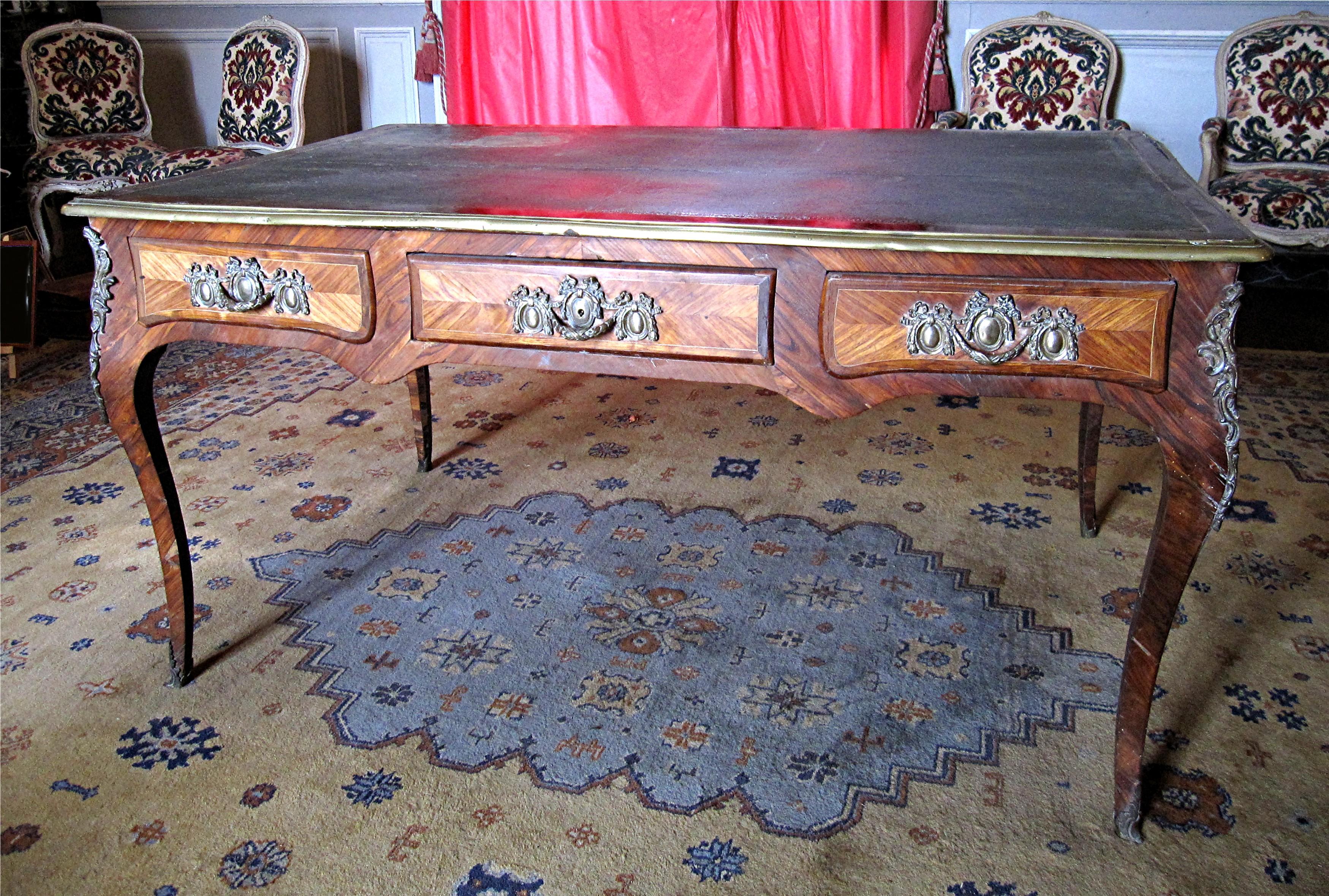 Bureau plat Louis XV