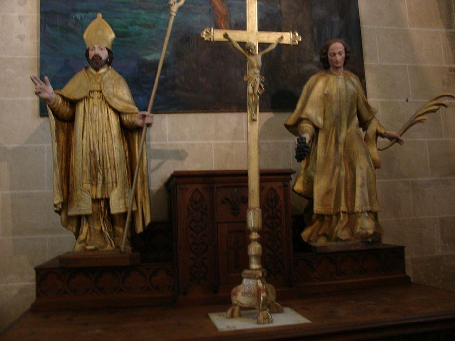 Statue : Saint Aignan
