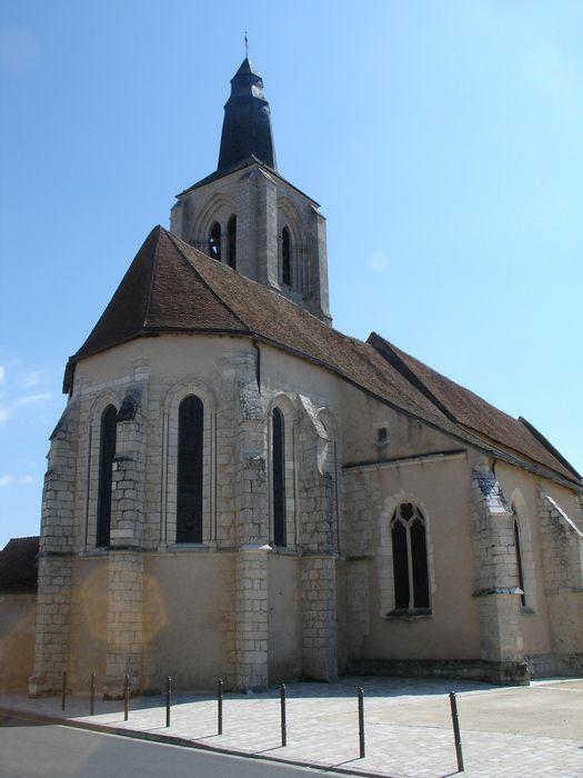 Eglise Saint-Aignan: Chevet, vue générale