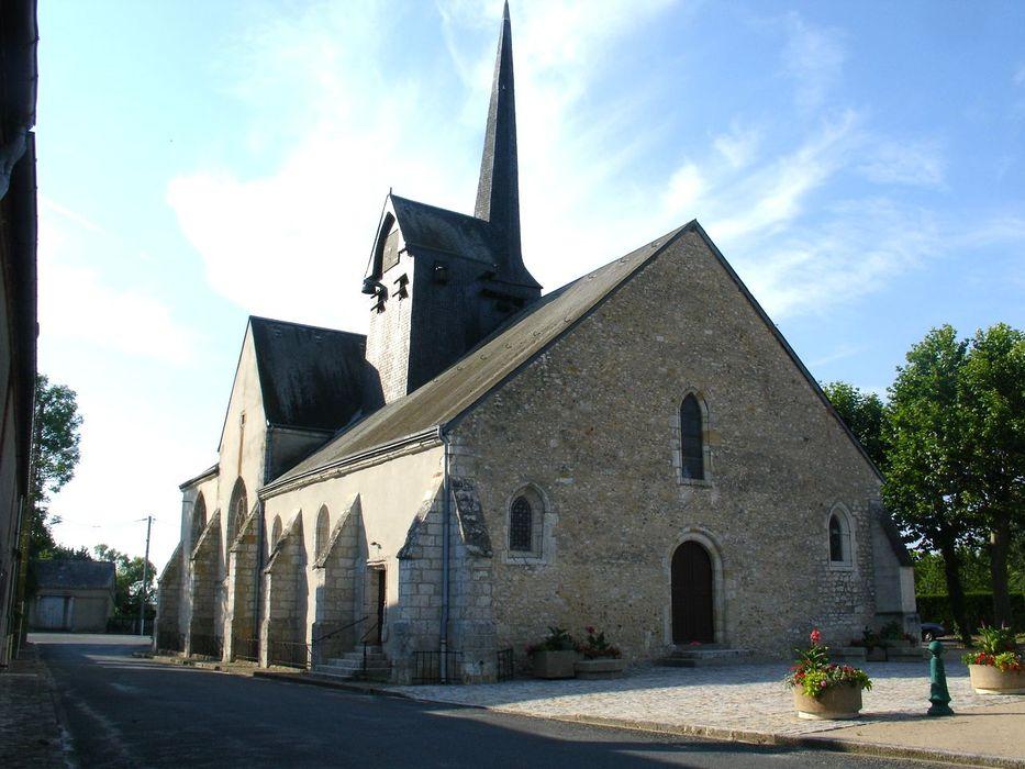 Eglise Saint-Hilaire: Ensemble nord-ouest, vue générale