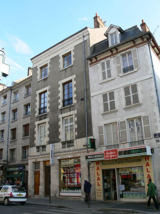 Immeuble, façade sur rue, vue générale