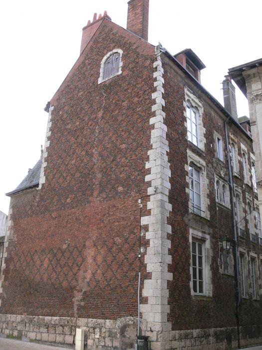 Maison dite des Chevaliers du Guet, façade sur rue, vue générale