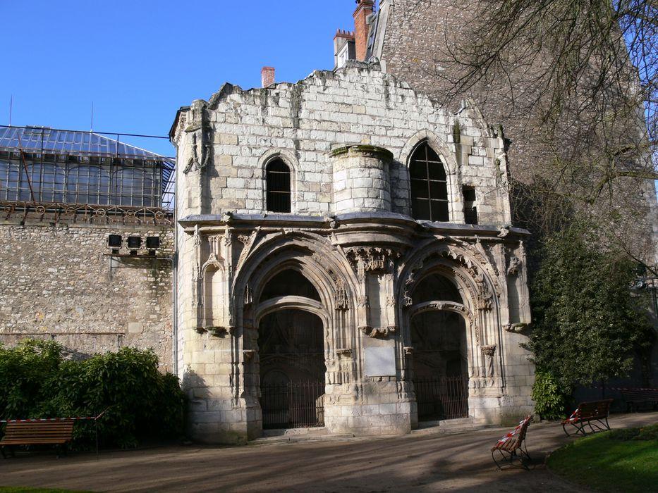 Vestiges de la chapelle Saint-Jacques: Vue partielle des vestiges