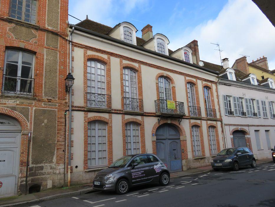 Hôtel de Salvat-Duhalde: Façade sur rue, vue générale