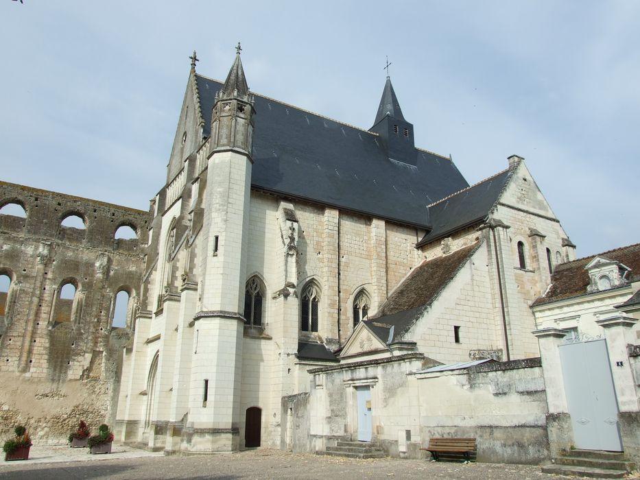 Eglise abbatiale Saint-Pierre-Saint-Paul: Ensemble sud, vue générale