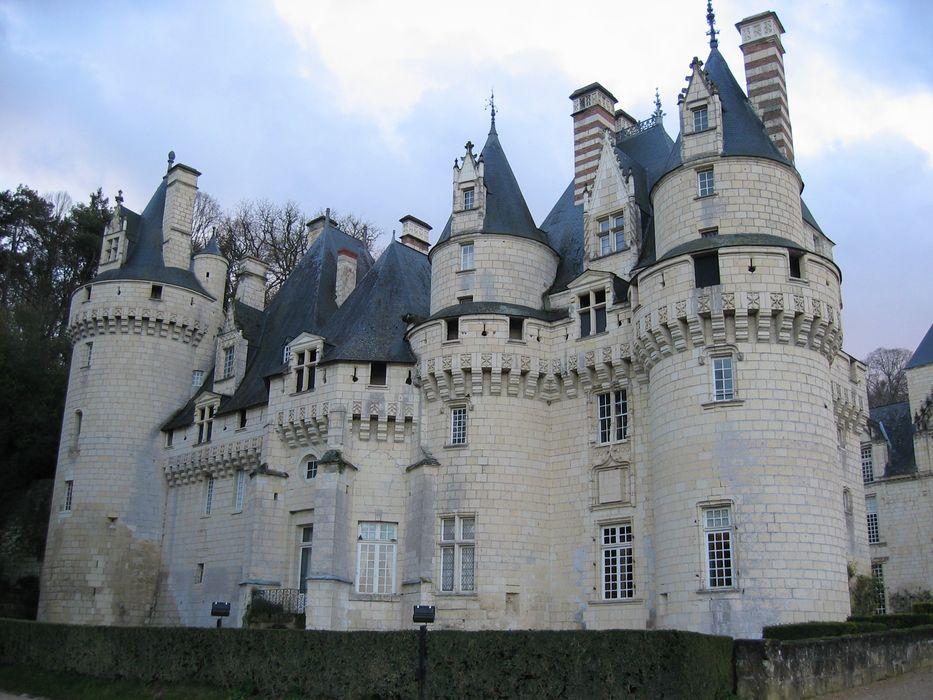 Château d'Ussé: Ensemble est, vue générale