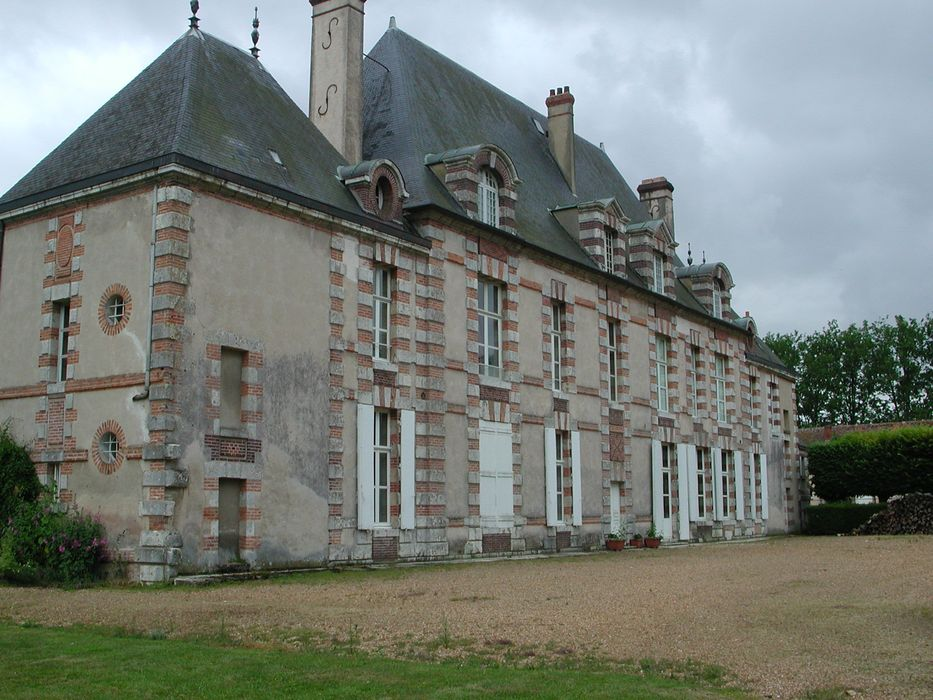 Château de Vauventriers: Ensemble nord, vue générale