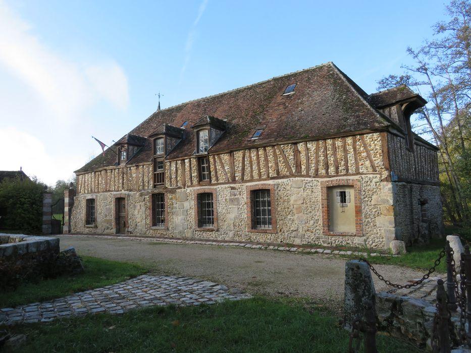 Moulin de Mormoulins: Façade sud-est, vue générale