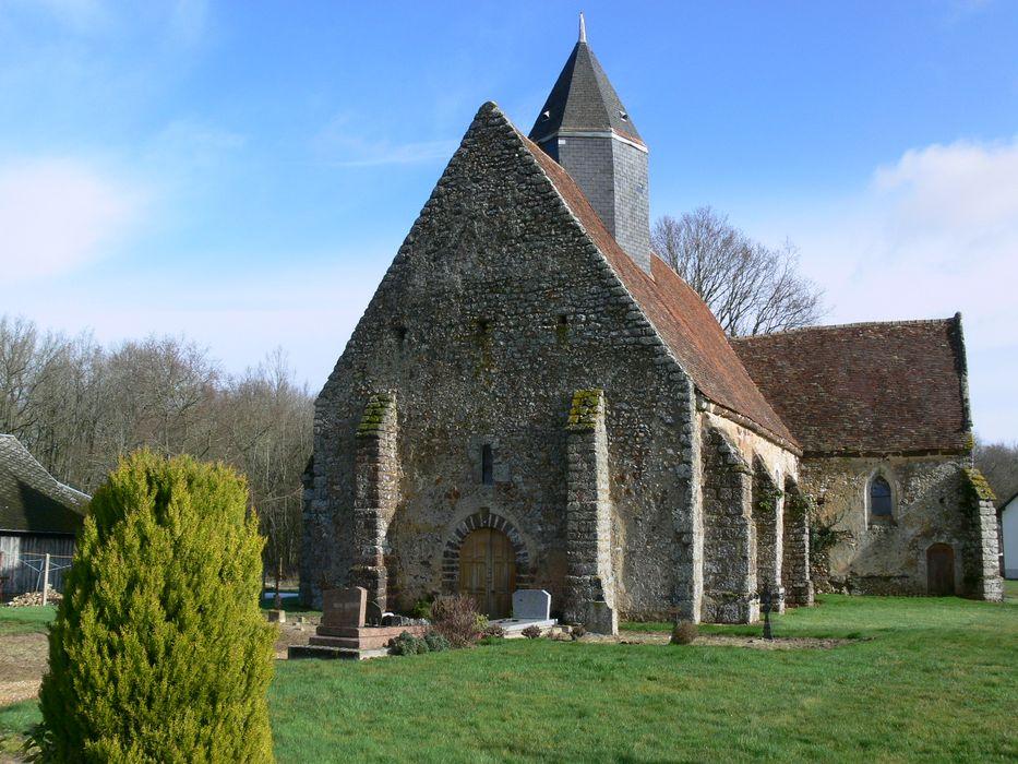 Eglise Saint-Pierre: Ensemble sud-ouest, vue générale