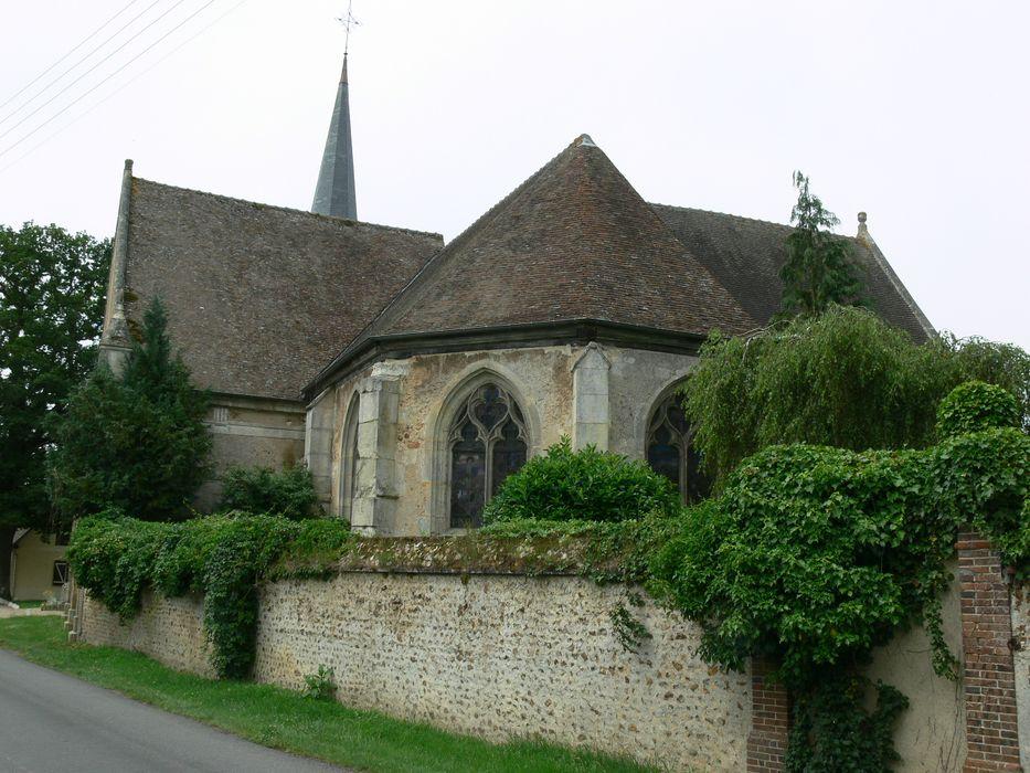 Eglise Saint-Sulpice: Chevet, vue générale