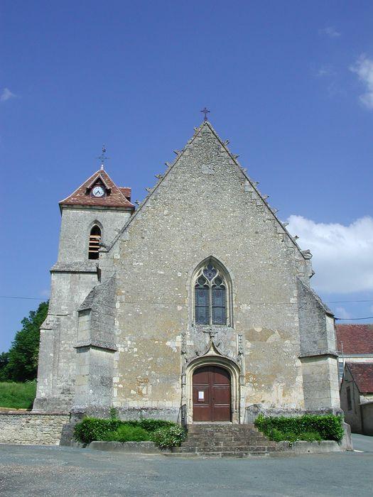 Eglise Saint-Georges: Façade occidentale, vue générale