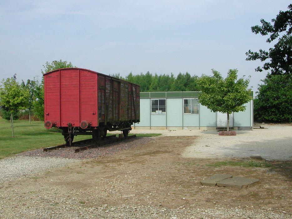 Ancien camp d'internement de Voves: Vue partielle du site