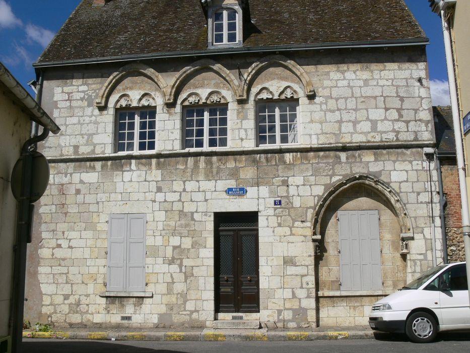 Maison dite Hôtel de la Lanterne: Façade sur rue, vue générale
