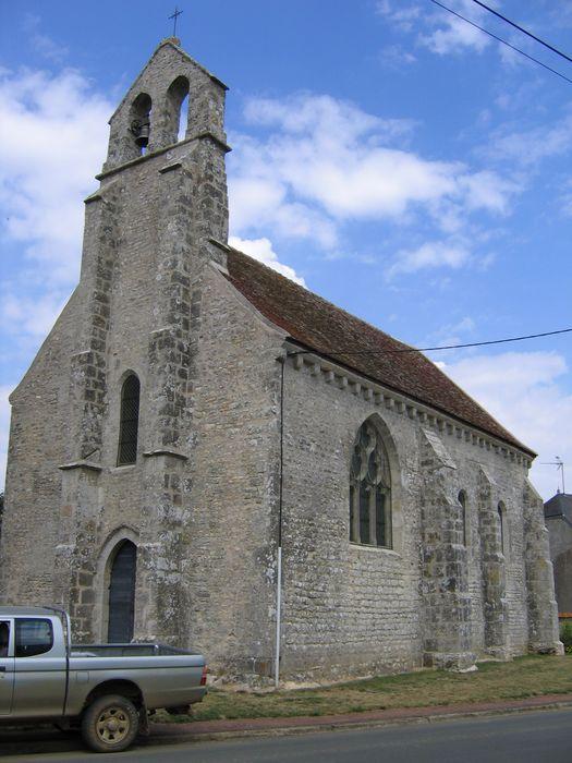 Eglise de la Folie-Herbault: Ensemble sud-ouest, vue générale