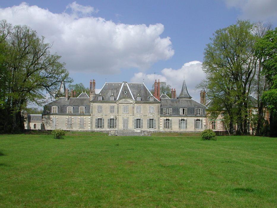 Château de Cambray: Ensemble sud, vue générale