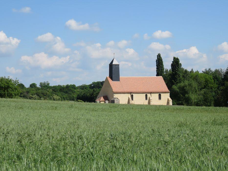 Chapelle Saint-Sulpice: Vue générale de la chapelle dans son environnement
