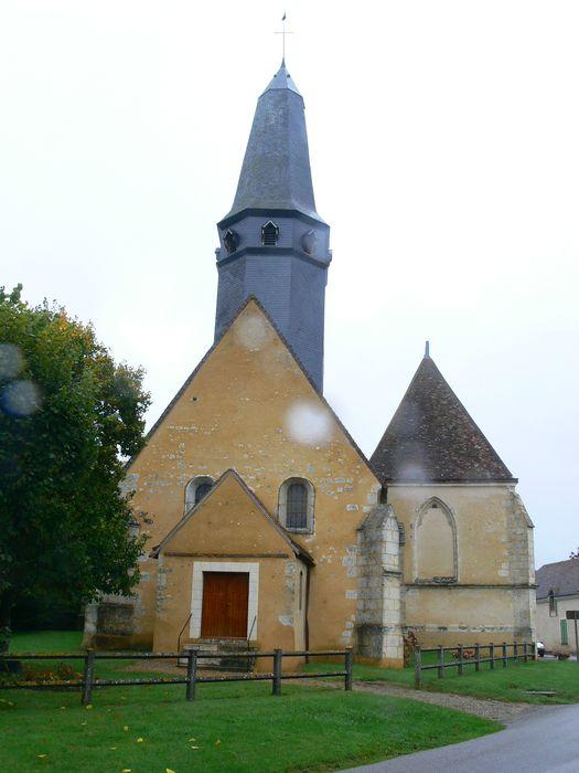 Eglise Saint-Thomas: Façade occidentale, vue générale