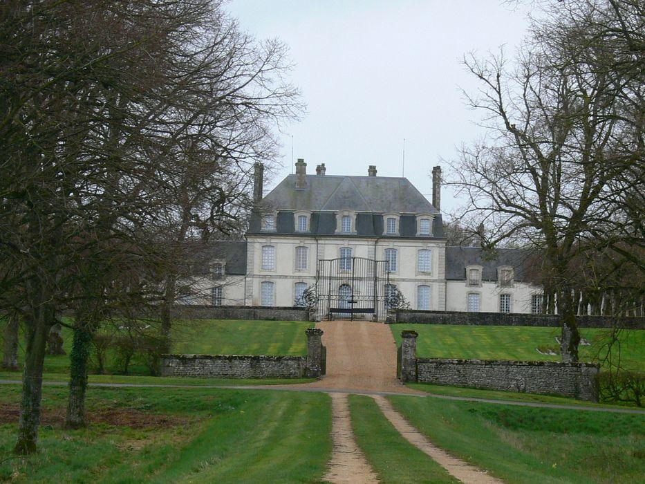 Château de Champ-Romain: Ensemble nord, vue générale