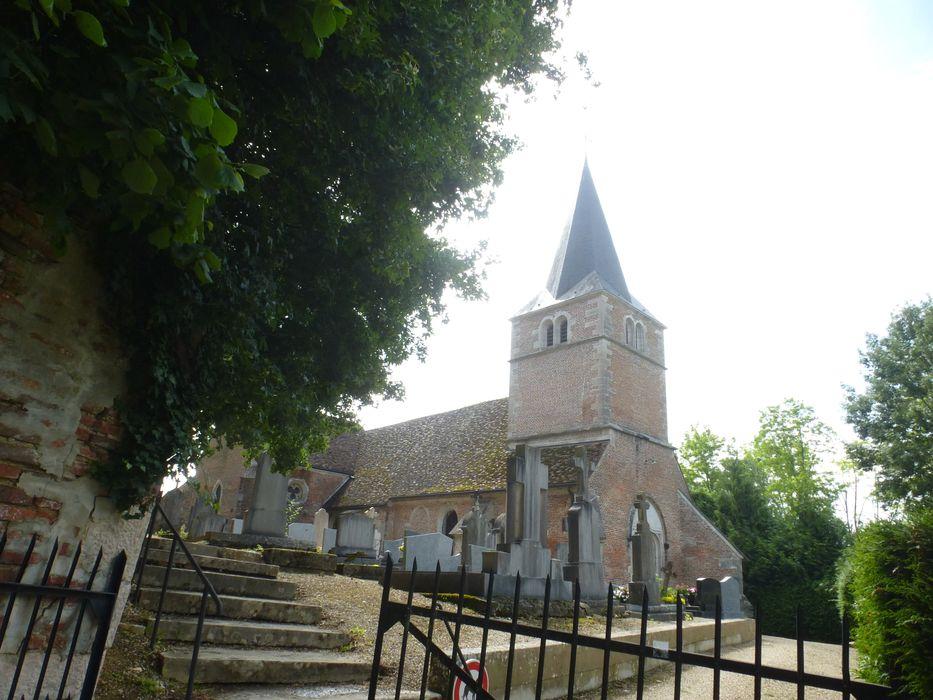 Eglise Sainte-Madeleine: Ensemble nord-ouest, vue partielle