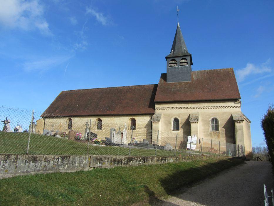 Eglise de la Nativité: Façade latérale sud, vue générale