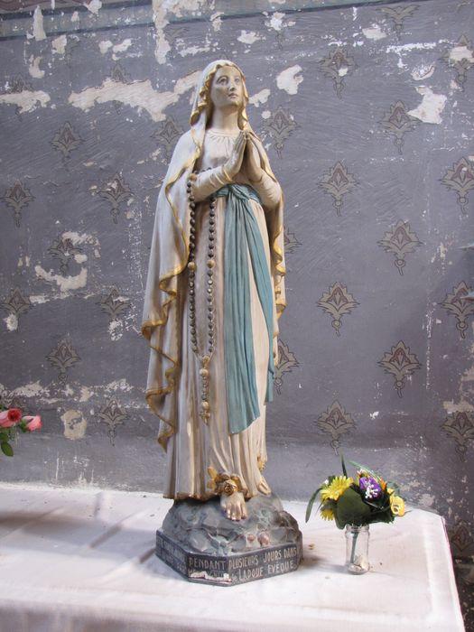 Statue : Notre Dame de Lourdes