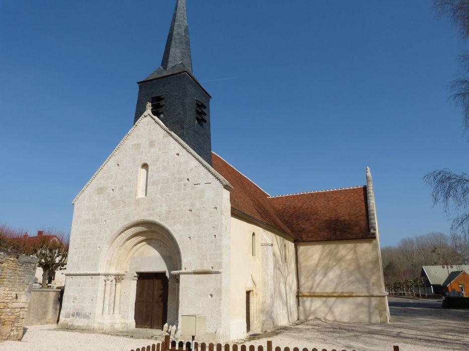 Eglise Saint-Martin: Ensemble sud-ouest, vue générale