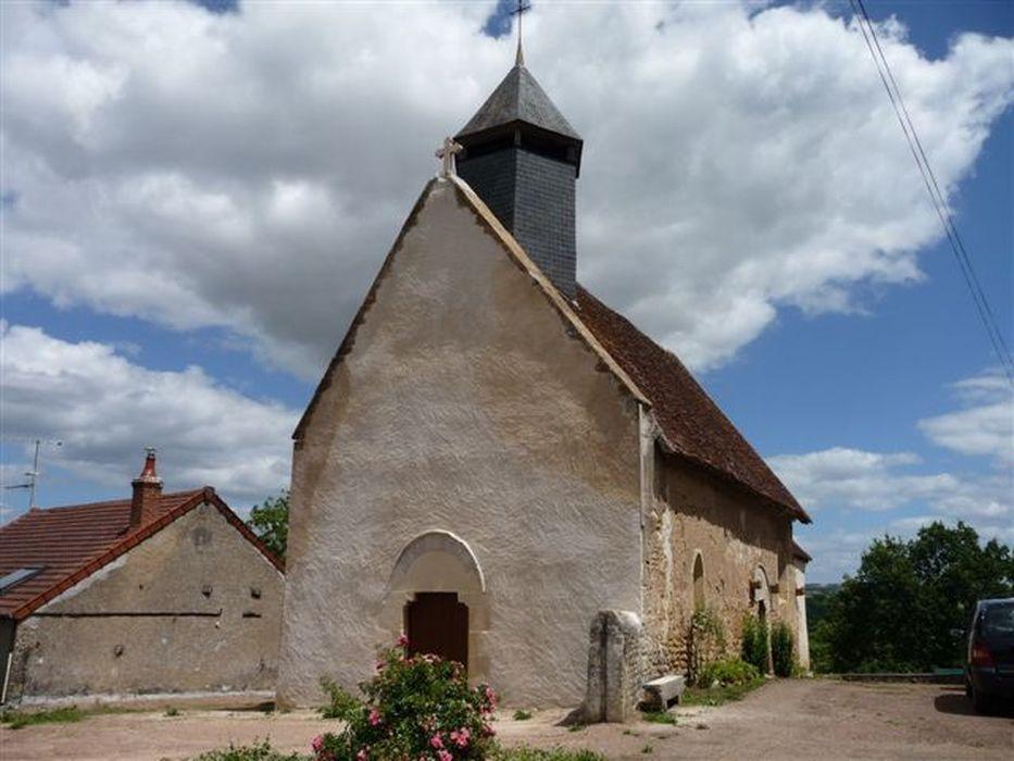 Eglise Saint-Didier: Façade occidentale, vue générale
