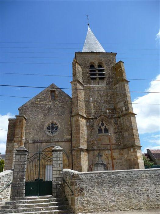 Eglise Saint-Denys: Façade occidentale, vue générale