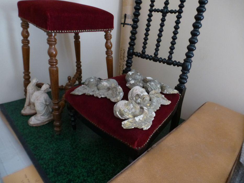 autel (maître-autel) et tabernacle, parties
